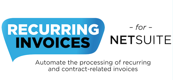 recurring invoices for netsuite