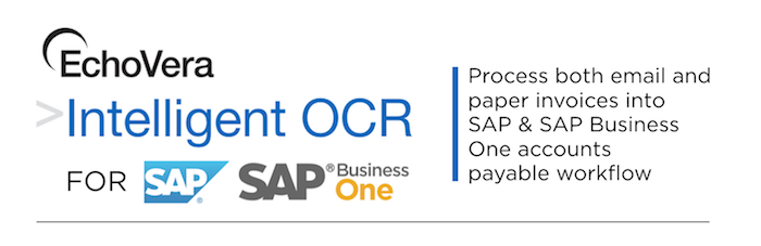 Intelligent OCR for SAP Business One & SAP ERP - EchoVera
