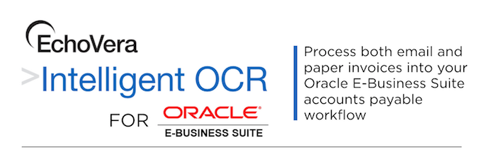 intelligent OCR for Oracle E-Business Suite