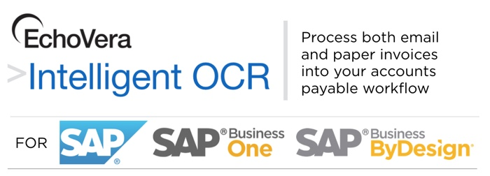 invoice ocr for SAP and SAP Business One