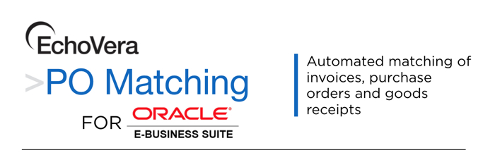 3 way match for oracle e-business suite