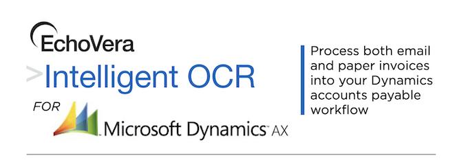 invoice ocr for dynamics ax