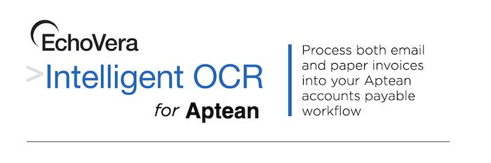 intelligent OCR for Aptean